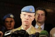 UN Syria mission head says observers 'calming' situation