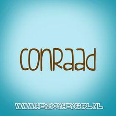 Conraad (Voor meer inspiratie, en unieke geboortekaartjes kijk op www.heyboyheygirl.nl)