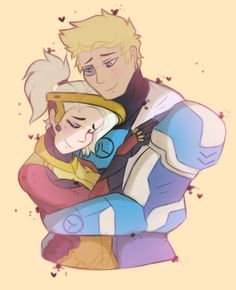 Mercy X Soldier 76, Jack Morrison, Overwatch Drawings, Anime Couples, Game Art, Pop Culture, Cool Art, Artist, Artwork