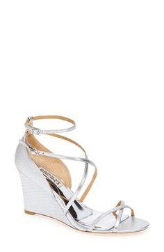 4c669f1b3b2 Badgley Mischka  Melaney II  Wedge Sandal (Women)