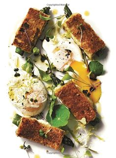 Super-duper sophisticated grilled cheese from Williams-Sonoma: Asparagus Grilled Cheese with Poached Egg and Greens Healthy Soup Recipes, Cooking Recipes, Egg Recipes, Chefs, Williams Sonoma, Lunch Wraps, Good Food, Yummy Food, Food Inspiration