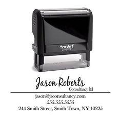 Return Address Business Stamp Personalized Trodat Custom ... http://www.amazon.com/dp/B0140X0UMK/ref=cm_sw_r_pi_dp_KG9sxb0HBD60V
