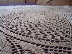 Up close detail of Maja Cariati lace piece.