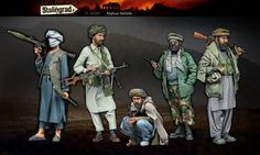 636ce03063b6b A big set of Afghan rebels in 1 35 scale resin from Stalingrad. Click