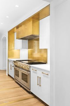Amuneal Debuts Brass Kitchen
