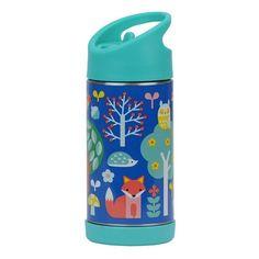 Petit Collage Water Bottle - Woodlands