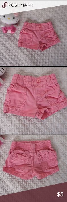 Circo pink shorts Used condition but still holding up well. They are adorable on. Bundle in my closet and save! Circo Bottoms Shorts