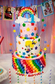 Rainbow Brite Cake Craft Ideas Cake 80s Birthday