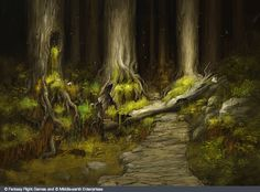 forest pathway fantasy - Google Search