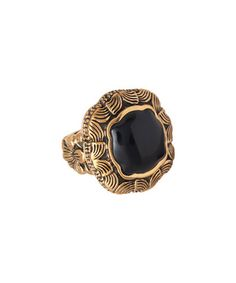 Loving this Onyx & Bronze Abstract Ring on #zulily! #zulilyfinds