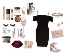 """""""Clubbing with friends"""" by sofyoli on Polyvore featuring River Island, JustFab, Miss Selfridge, 1928, Too Faced Cosmetics, Vince Camuto, Bobbi Brown Cosmetics, Jane Iredale, Physicians Formula and NARS Cosmetics"""