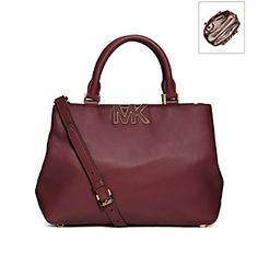 Product: MICHAEL Michael Kors® Florence Leather Medium Satchel
