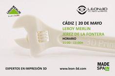 Taller de impresión 3D Leroy Merlin Jerez de la Frontera (Cádiz)