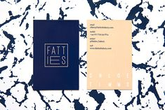 It's Nice That : Graphic Design: Dot Dash create a playful identity for new London bakery Fatties
