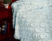Beautiful Bedspread Crochet Pattern Vintage Sunflower Bedspread Tapestry Pattern Crochet Bed Cover Instant Download PDF