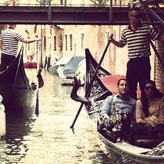 Biennale traffic #Canal #Venice #Biennale2015 #Friday #Design #History #Fortuny