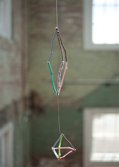 DIY: Twig Cage Mobile  http://blog.freepeople.com/2012/08/diy-twig-cage-mobile/