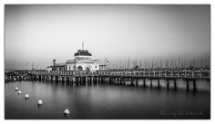 The cafe on the pier - #Melbourne by Maciej Nadstazik #StKilda