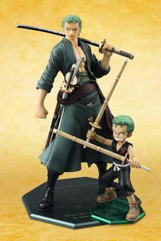 Figures Anime / Manga : One Piece Excellent Model Mild P.O.P CB-R2 PVC Statue 1/8 Zoro 13 cm ( Megahouse )