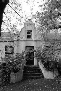 Cape Dutch, stairs, door