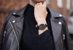 Daniel Wellington watch classic black / zegarek Daniel Wellington klasyczny czarny