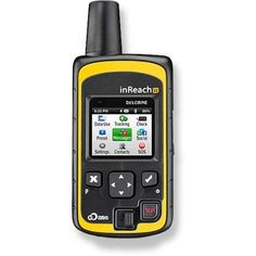 DeLorme inReach SE 2-Way Satellite Communicator - The perfect alternative to a satellite phone. 100% coverage. If only it were the size of the new Apple Watch. Sigh.