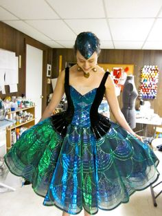 Absolutely stunning ballet costume by Jude Bonnot    Smiling Heart: Hanging Out with Buoyant Souls