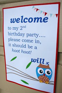 Owl-Themed Party :: megann's kitchen