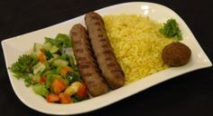 Kifta Kabob Lunch Special from Salem Restaurant in Chicago, IL