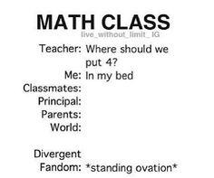 Math Class Divergent Problem