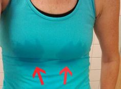 9 Solutions For Breast Sweat