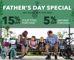 Father's Day Special - No more ties for dad!