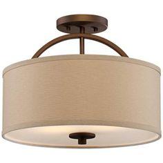 With white shade Light - #T8957 | www.lampsplus.com