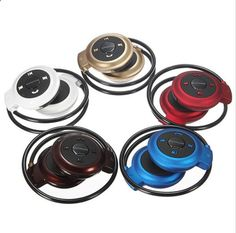 MP3 players for sports 2016 New Mini 503 Neckband Sport Wireless Bluetooth Handsfree Stereo Headset Headphone Earphone for Mp3 Player - One of the best MP3 players in the market. It is submersible up to two meters, is available in five colors.