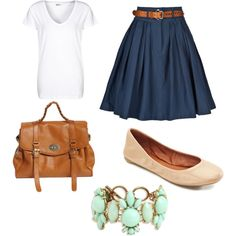 Casual, Feminine Style by weste on Polyvore featuring Pier 1 Imports, Preen and Lucky Brand