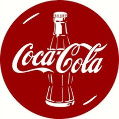 STENCIL ITEM 5605 COKE COLA CIRCLE