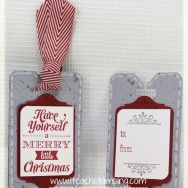 Making Christmas Tags – Video Tutorial  Posted on Aug 7, 2013 Tags 4 You, Merry Little Christmas