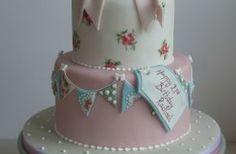Cath Kidston style cake. Gallery @ Hettys Cake House