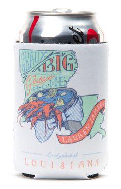 Louisiana Geaux Big Koozie