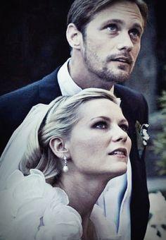 "Kirsten Dunst & Alexander Skarsgård- ""Melancholia""  first time hearing of this movie???? hotty"