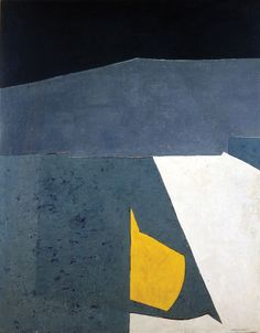 Serge Poliakoff (1906~1969) was a Russian-born French modernist painter belonging to the 'New' Ecole de Paris (Tachisme).