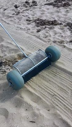 The Sand Cleaning Tool, Patented, for a quick and easy cleaning grooming of beaches or Volleyball courts or any sand area. Will be available exclusively at CleanSands, Inc. Volleyball Court Backyard, Sand Volleyball Court, Beach Tennis, Clean Beach, Plastic Pollution, Cleaning Equipment, Pool Water, Backyard Games, Welding Projects
