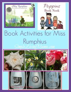 Book activities for Miss Rumphius - Bring Beauty to the World!