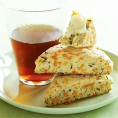 Cheese Dill Scones | MyRecipes.com. Made these last weekend and they were amazing. Then shared it with friends and they made them and loved them, determined that this becomes one of my repertoire recipes. Also they are easy to make.