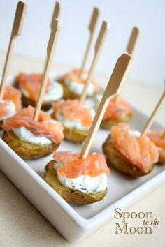 #salmon #potatoes #cream