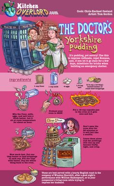 Doctor Who themed recipes!!
