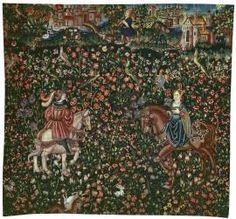 Highly Important Millefleurs Tapestry Panel