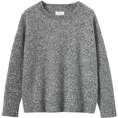 Toast Boiled Merino Wool Pullover (1 925 UAH) ❤ liked on Polyvore featuring tops, sweaters, merino top, long sleeve sweaters, boxy sweater, long sleeve tops and long sleeve pullover