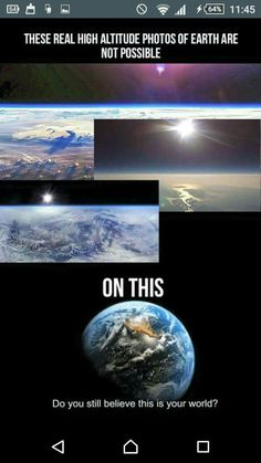 Guys just do your research Without prejudice please I am in hell of the physics But just few hours of research, and i became a flat earther This is crazy But please visit my board. There is enough evidence