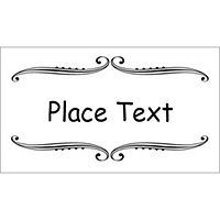 Place setting cards template flashek Images